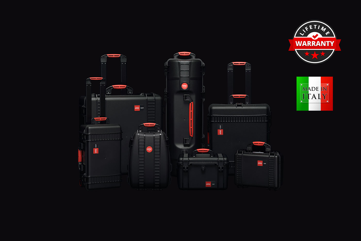 HPRC Cases - High Performance Resin Cases with a Lifetime Warranty